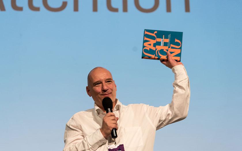 Boris Kochan is showing the GRANSHAN publication DESIGN & IDENTITY