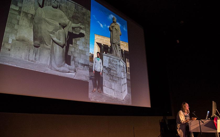 Carolyn Puzzovio at GRANSHAN Conference 2017