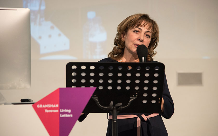 Angela Poghosova on the history of GRANSHAN