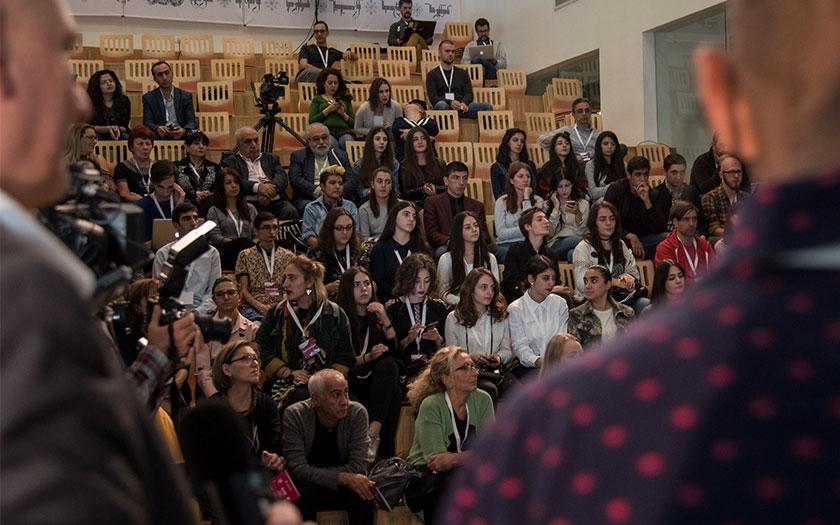 Greeting words from GRANSHAN curators Boris Kochan, Edik Ghabuzyan, Gerry Leonidas