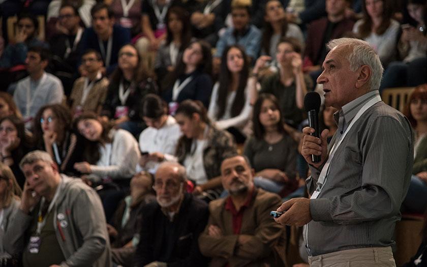 Edik Ghabuzyan at GRANSHAN conference