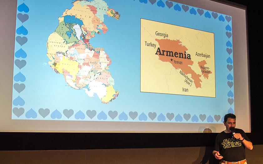 Hrant Papazian at GRANSHAN Conference 2017