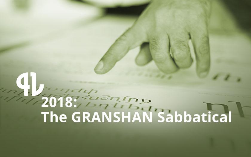 GRANSHAN Sabbatical
