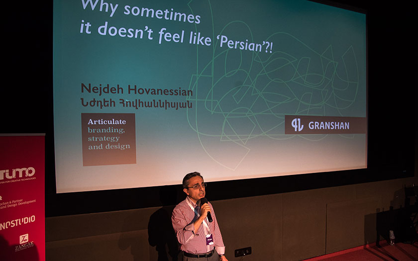 Nejdeh Hovanessian at GRANSHAN Conference 2017